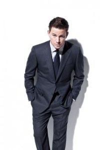 Channing Tatum's suit and tie show the world he is a man of sophistication.