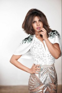 Priyanka Chopra, star of the hit show Quantico, pulls off this look effortlessly with the details and bolero.